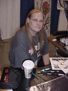 James at HeroCon 2005