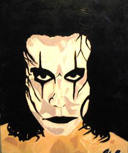 Chris' painting