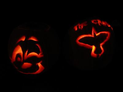 Scott's pumpkin carvings
