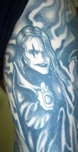 Mike's tattoo