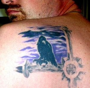 Dan's tattoo