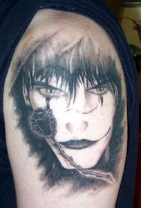 Nick's tattoo