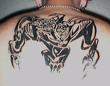 Tim's tattoo