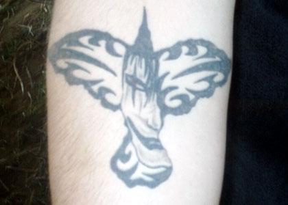 Steve's tattoo