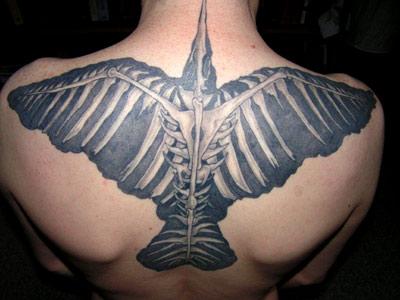 Crow Fan Tattoos: Bj