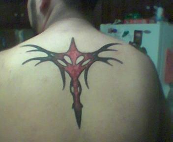 Matthew's tattoo