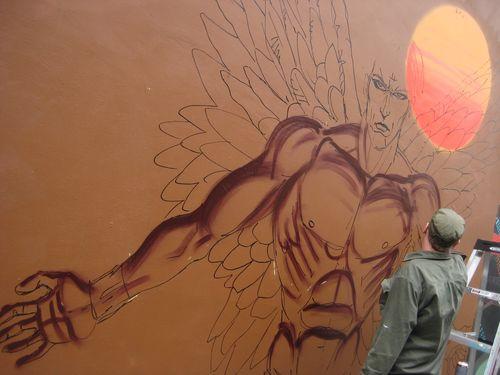 First Mural